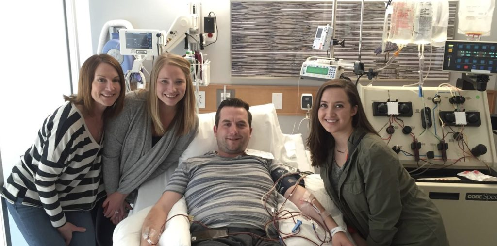 Mike Rice in Hospital